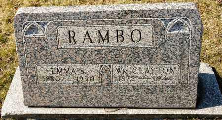 RAMBO, EMMA S - Richland County, Ohio | EMMA S RAMBO - Ohio Gravestone Photos