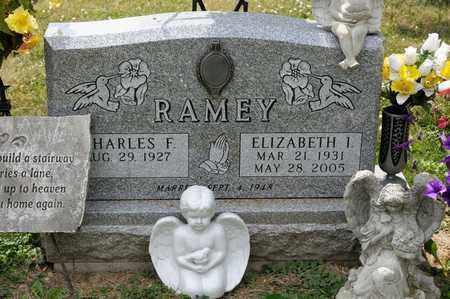 RAMEY, ELIZABETH I - Richland County, Ohio   ELIZABETH I RAMEY - Ohio Gravestone Photos