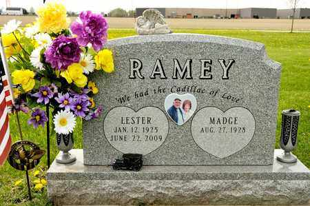 RAMEY, LESTER - Richland County, Ohio   LESTER RAMEY - Ohio Gravestone Photos