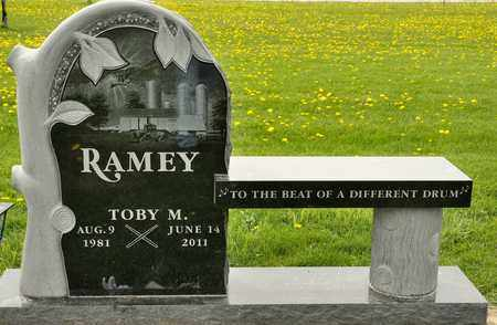 RAMEY, TOBY M - Richland County, Ohio | TOBY M RAMEY - Ohio Gravestone Photos