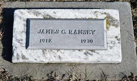 RAMSEY, JAMES C - Richland County, Ohio | JAMES C RAMSEY - Ohio Gravestone Photos