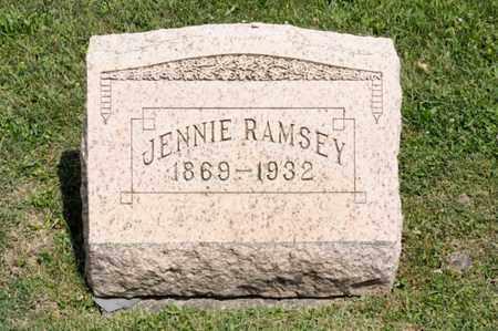 RAMSEY, JENNIE - Richland County, Ohio   JENNIE RAMSEY - Ohio Gravestone Photos