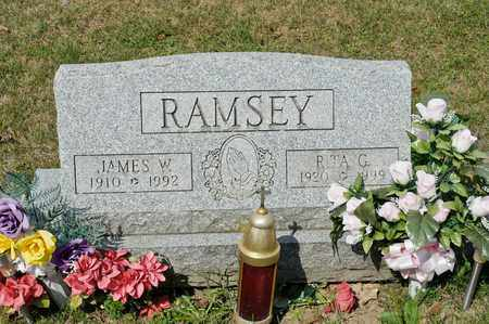 RAMSEY, RITA G - Richland County, Ohio | RITA G RAMSEY - Ohio Gravestone Photos