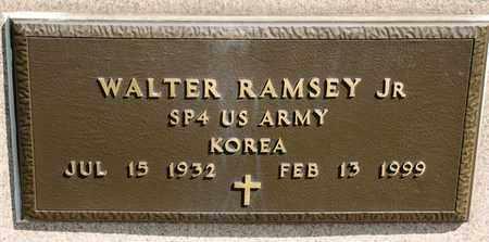 RAMSEY JR, WALTER - Richland County, Ohio | WALTER RAMSEY JR - Ohio Gravestone Photos