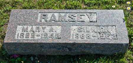 RAMSEY, MARY A - Richland County, Ohio | MARY A RAMSEY - Ohio Gravestone Photos