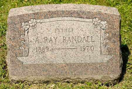 RANDALL, A RAY - Richland County, Ohio | A RAY RANDALL - Ohio Gravestone Photos