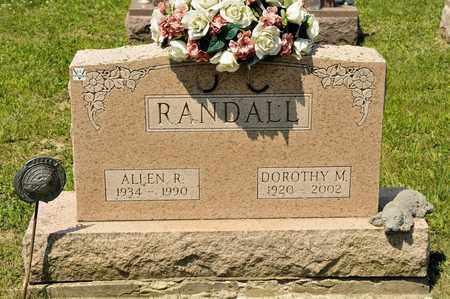 RANDALL, ALLEN R - Richland County, Ohio | ALLEN R RANDALL - Ohio Gravestone Photos