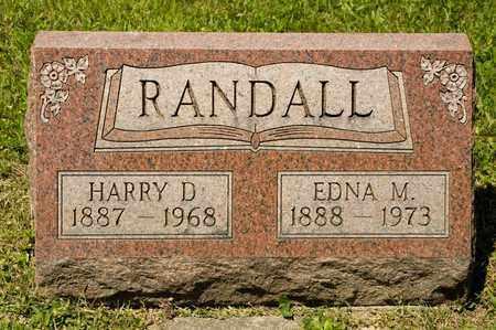 RANDALL, HARRY D - Richland County, Ohio   HARRY D RANDALL - Ohio Gravestone Photos