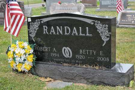 RANDALL, ROBERT A - Richland County, Ohio | ROBERT A RANDALL - Ohio Gravestone Photos