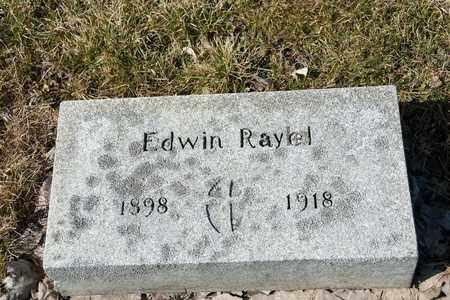 RAYEL, EDWIN - Richland County, Ohio   EDWIN RAYEL - Ohio Gravestone Photos