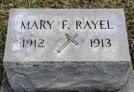 RAYEL, MARY F - Richland County, Ohio   MARY F RAYEL - Ohio Gravestone Photos