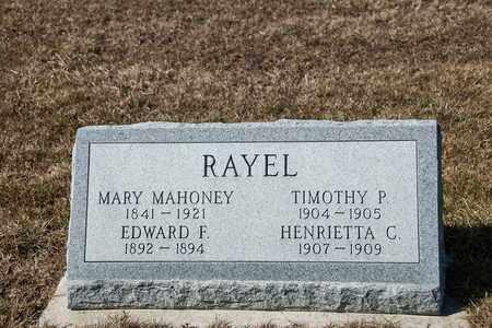 RAYEL, HENRIETTA C - Richland County, Ohio | HENRIETTA C RAYEL - Ohio Gravestone Photos