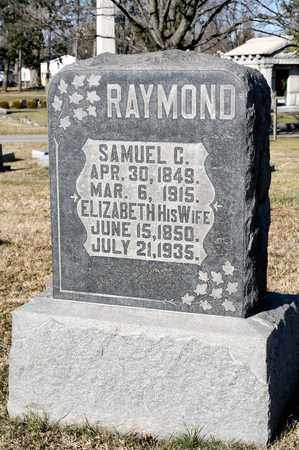 RAYMOND, SAMUEL C - Richland County, Ohio | SAMUEL C RAYMOND - Ohio Gravestone Photos