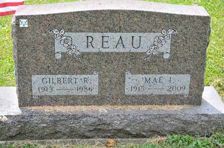REAU, GILBERT R - Richland County, Ohio   GILBERT R REAU - Ohio Gravestone Photos