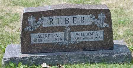 REBER, ALFRED A - Richland County, Ohio | ALFRED A REBER - Ohio Gravestone Photos
