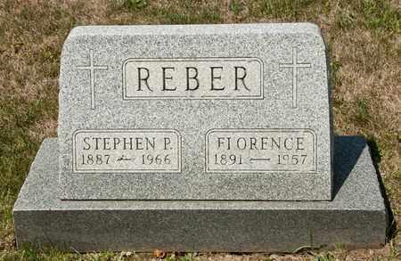 REBER, FLORENCE - Richland County, Ohio | FLORENCE REBER - Ohio Gravestone Photos