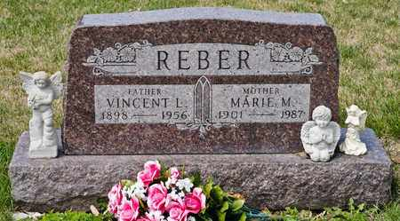 REBER, VINCENT L - Richland County, Ohio   VINCENT L REBER - Ohio Gravestone Photos