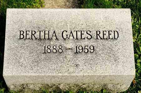 GATES REED, BERTHA - Richland County, Ohio | BERTHA GATES REED - Ohio Gravestone Photos