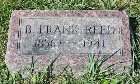 REED, B FRANK - Richland County, Ohio | B FRANK REED - Ohio Gravestone Photos