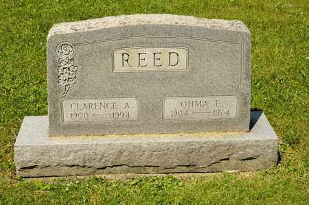 REED, CLARENCE A - Richland County, Ohio | CLARENCE A REED - Ohio Gravestone Photos