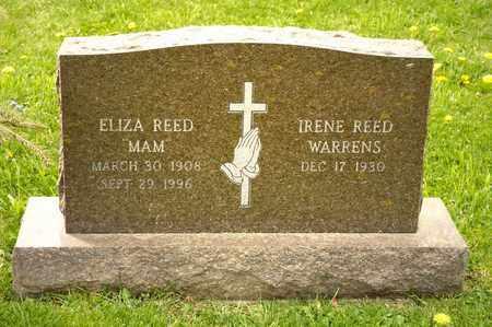 REED, ELIZA - Richland County, Ohio | ELIZA REED - Ohio Gravestone Photos