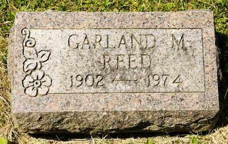 REED, GARLAND M - Richland County, Ohio   GARLAND M REED - Ohio Gravestone Photos