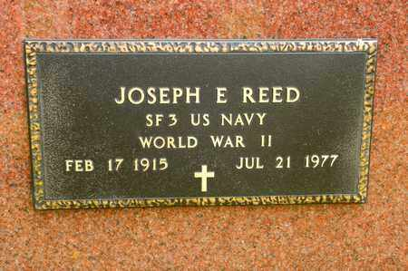 REED, JOSEPH E - Richland County, Ohio | JOSEPH E REED - Ohio Gravestone Photos
