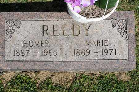 REEDY, HOMER - Richland County, Ohio | HOMER REEDY - Ohio Gravestone Photos