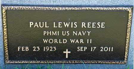 REESE, PAUL LEWIS - Richland County, Ohio | PAUL LEWIS REESE - Ohio Gravestone Photos