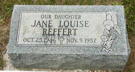 REFFERT, JANE LOUISE - Richland County, Ohio | JANE LOUISE REFFERT - Ohio Gravestone Photos