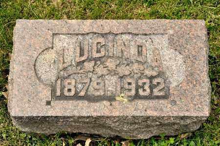REGULA, LUCINDA - Richland County, Ohio   LUCINDA REGULA - Ohio Gravestone Photos