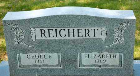 REICHERT, ELIZABETH - Richland County, Ohio | ELIZABETH REICHERT - Ohio Gravestone Photos