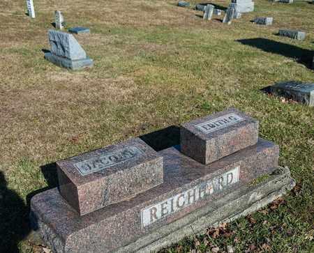 REICHHARD, JACOB F - Richland County, Ohio | JACOB F REICHHARD - Ohio Gravestone Photos