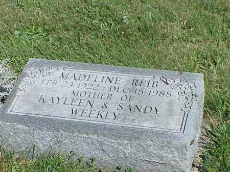 REID, MADELINE - Richland County, Ohio   MADELINE REID - Ohio Gravestone Photos