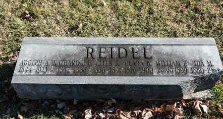 REIDEL, WILLIAM F - Richland County, Ohio | WILLIAM F REIDEL - Ohio Gravestone Photos