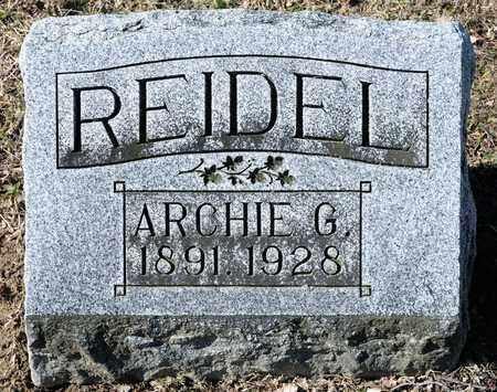 REIDEL, ARCHIE G - Richland County, Ohio | ARCHIE G REIDEL - Ohio Gravestone Photos