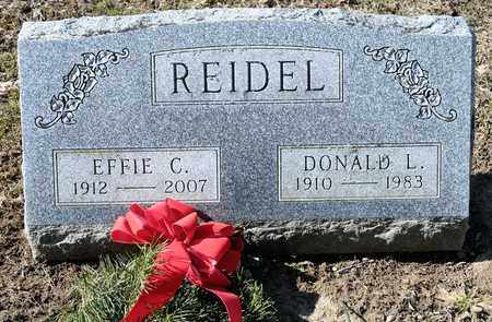 REIDEL, EFFIE C - Richland County, Ohio | EFFIE C REIDEL - Ohio Gravestone Photos