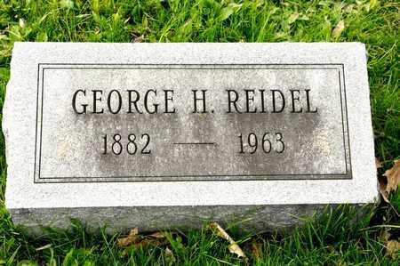 REIDEL, GEORGE H - Richland County, Ohio | GEORGE H REIDEL - Ohio Gravestone Photos