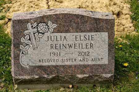 """REINWEILER, JULIA """"ELSIE"""" - Richland County, Ohio   JULIA """"ELSIE"""" REINWEILER - Ohio Gravestone Photos"""