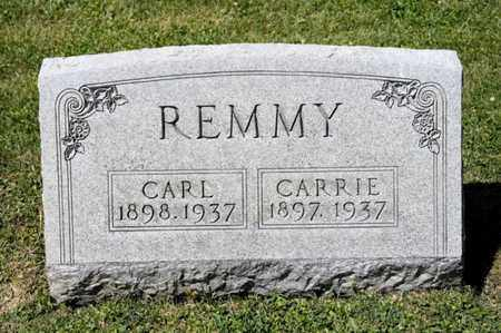 REMMY, CARRIE - Richland County, Ohio | CARRIE REMMY - Ohio Gravestone Photos