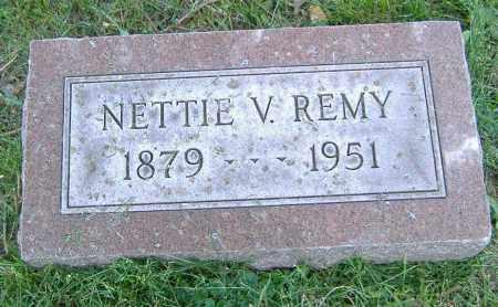 REMY, NETTIE V. - Richland County, Ohio | NETTIE V. REMY - Ohio Gravestone Photos