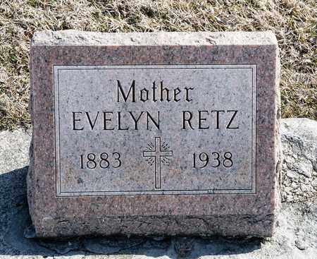 RETZ, EVELYN - Richland County, Ohio | EVELYN RETZ - Ohio Gravestone Photos