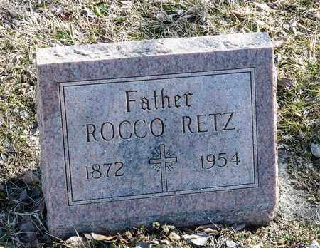 RETZ, ROCCO - Richland County, Ohio | ROCCO RETZ - Ohio Gravestone Photos