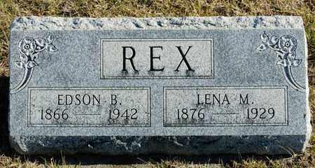 REX, EDSON B - Richland County, Ohio | EDSON B REX - Ohio Gravestone Photos