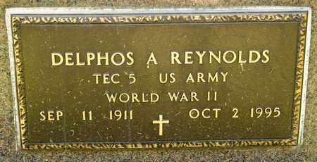REYNOLDS, DELPHOS A - Richland County, Ohio | DELPHOS A REYNOLDS - Ohio Gravestone Photos
