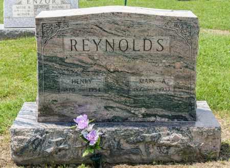 REYNOLDS, HENRY - Richland County, Ohio | HENRY REYNOLDS - Ohio Gravestone Photos