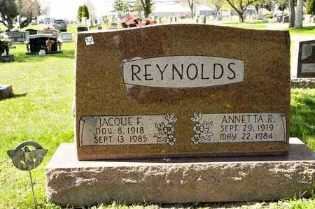 REYNOLDS, ANNETTA R - Richland County, Ohio | ANNETTA R REYNOLDS - Ohio Gravestone Photos