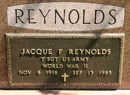 REYNOLDS, JACQUE F - Richland County, Ohio | JACQUE F REYNOLDS - Ohio Gravestone Photos