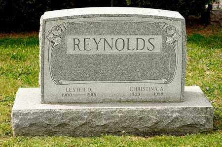 REYNOLDS, LESTER D - Richland County, Ohio | LESTER D REYNOLDS - Ohio Gravestone Photos