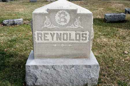 REYNOLDS, SARAH A - Richland County, Ohio | SARAH A REYNOLDS - Ohio Gravestone Photos